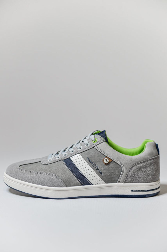Load image into Gallery viewer, Route 21 Memory Foam Casual Trainers - Grey