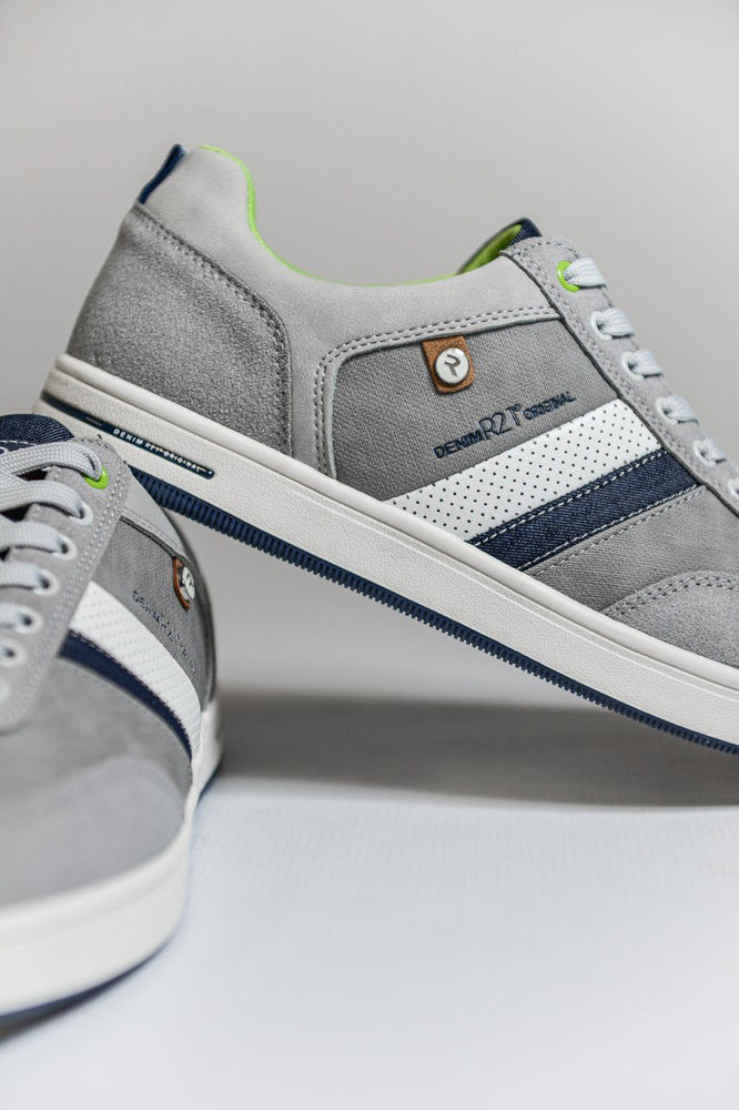 Route 21 Memory Foam Casual Trainers