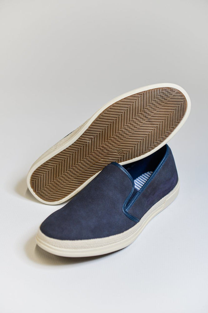 Route 21 Slip-on Espadrilles - Navy