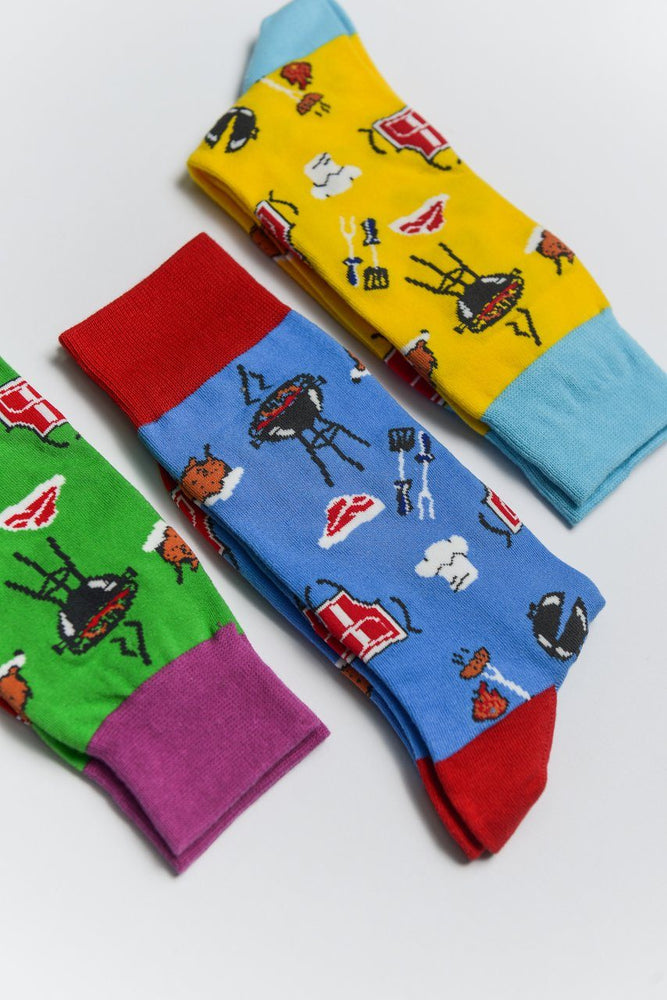 Sock Society BBQ Cotton Socks