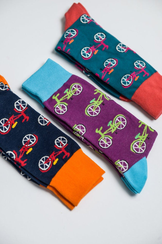 Sock Society Bicycle Cotton Socks