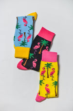 Sock Society Flamingo Cotton Socks