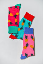 Sock Society Pineapple Cotton Socks