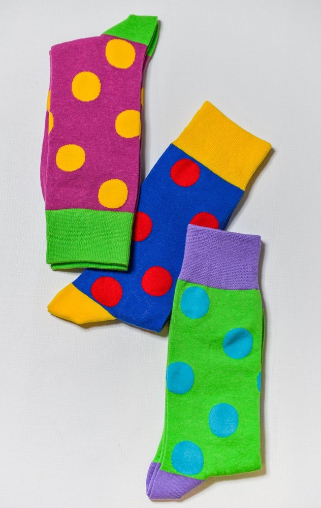 Sock Society Polka Dot Cotton Socks