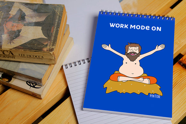 Work Mode On Notepad