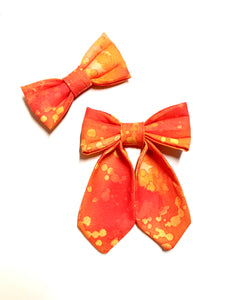Harvest Moon - Pet Bow Tie - Girlie Bow Tie