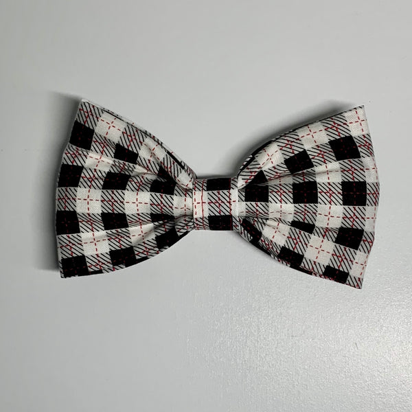 Buffalo Plaid Bow Tie - Girlie Bow Tie