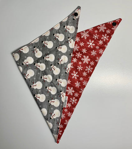 Let It Snow Pet Bandana