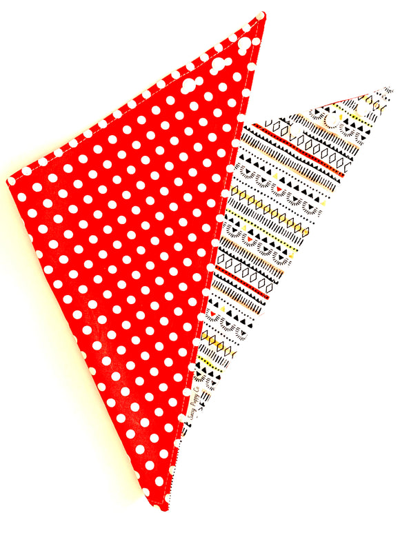 Summer Picnic- Pet Bandana - Snapdana- Over The Collar