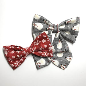 Let It Snow Bow Tie - Girlie Bow Tie