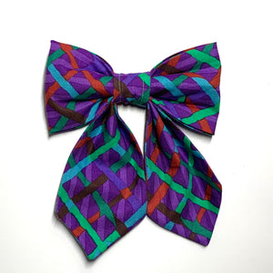 Plaids and Stripes - Girlie Bow Tie - Pet Bow Tie