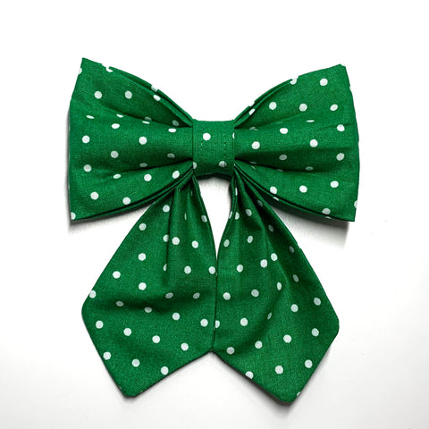 Lucky Dots - Girlie Bow Tie - Pet Bow Tie