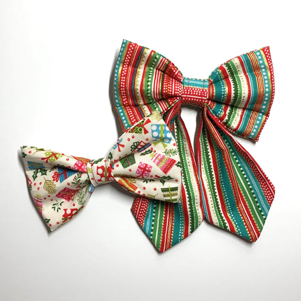 All Wrapped Up Bow Tie - Girlie Bow Tie