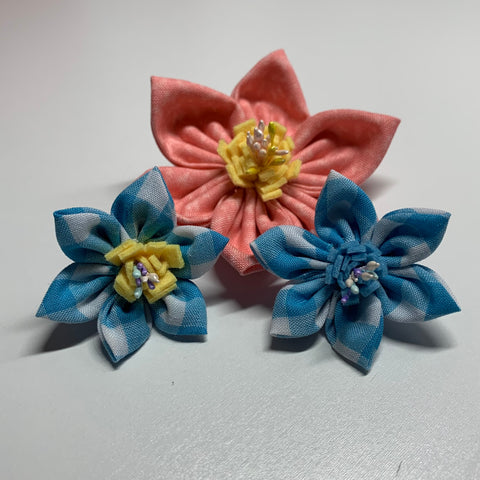 Spring Flower Collar Charms - Pets