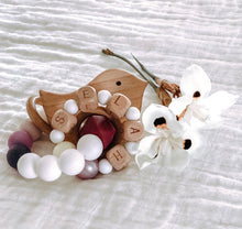 Paloma, Remember Me Birthstone Teether WITH personalization option added