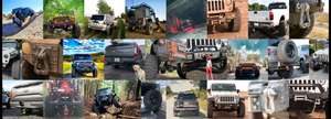 Moose Knuckle offroad recovery shackles offroad customer and influencer image gallery