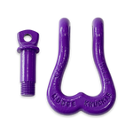 "Moose Knuckle XL Grape Escape Purple Heavy Duty Extra Strong Patent Pending 3/4"" Shackle for Off-Road Vehicle Recovery to Replace Bull Balls"
