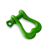 "Moose Knuckle XL Sublime Green Bow D-Ring 3/4"" Shackle for Off-Road Closed Loop 4x4 and SxS Vehicle Recovery"
