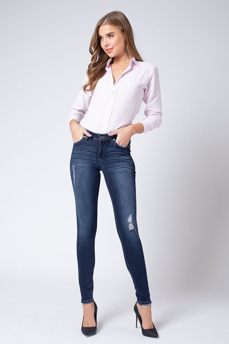 Kan Can Berkley Midrise Super Skinny Jeans
