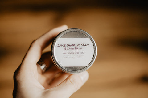 Live.Simple.Man - Beard Balm
