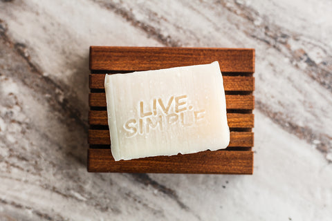Live.Simple.Shampoo Bar