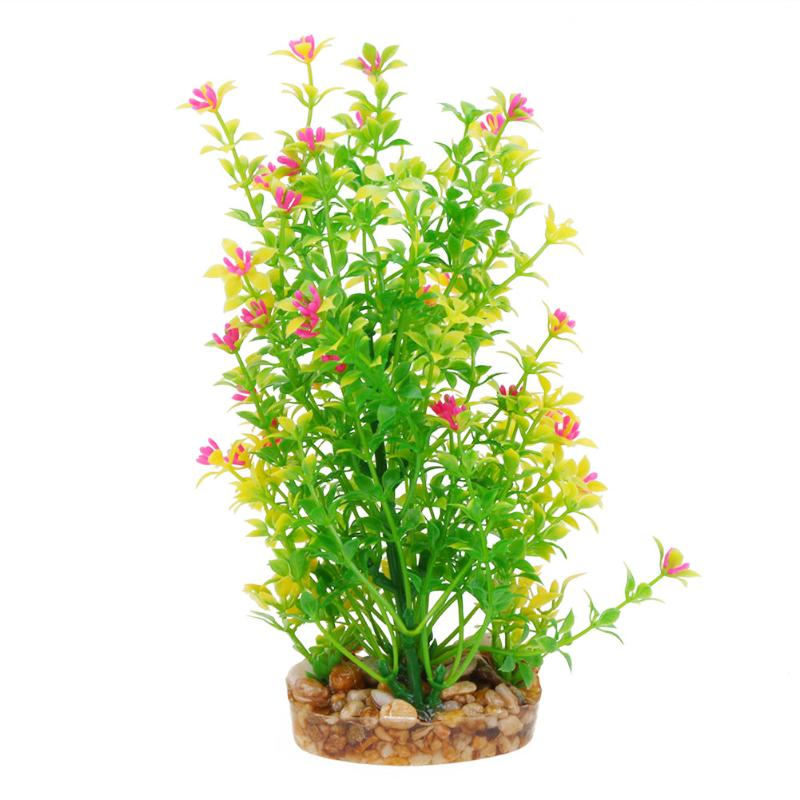 Simulation Plastic Grass Plants Fish Turtles Tanks Aquarium Decor Artificial Plants Water Weeds Ornament fish tank Decorative - Turtle Needs