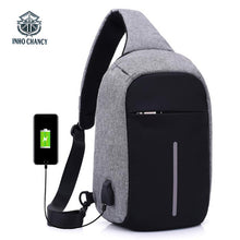 Load image into Gallery viewer, backpack for teenagers design frame USB Charge Anti-theft / AntiROBO - Douhal