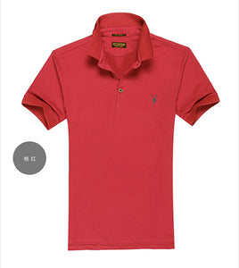 ALL size Casual polo shirt Men Solid polo shirt brands men British - Douhal
