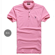 Load image into Gallery viewer, ALL size Casual polo shirt Men Solid polo shirt brands men British - Douhal