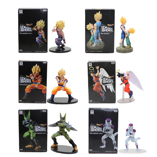 Dragon Ball Z Vegeta Trunks Son Goku Gohan Cell Frieza PVC - Douhal