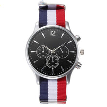 Load image into Gallery viewer, Bracelet Canvas Mens Analog Watch High Quality - Douhal