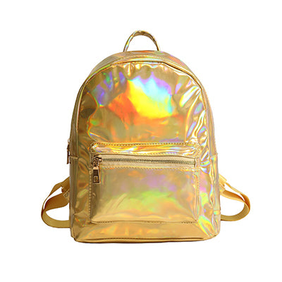 Backpack Girls Holographic Backpack Laser Daypack Bag For Teenage Girls Students - Douhal