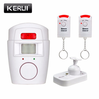 Home Security PIR MP Alert Infrared Sensor Anti-theft +2 remote controller - Douhal
