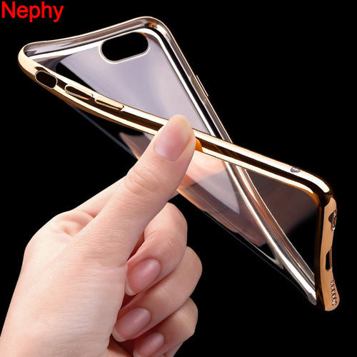 Case For iPhone X 8 7 6 5 s SE 5s 6s Plus 6Plus 7Plus 8Plus Cover Ultrathin Clear Silicon TPU Fundas - Douhal