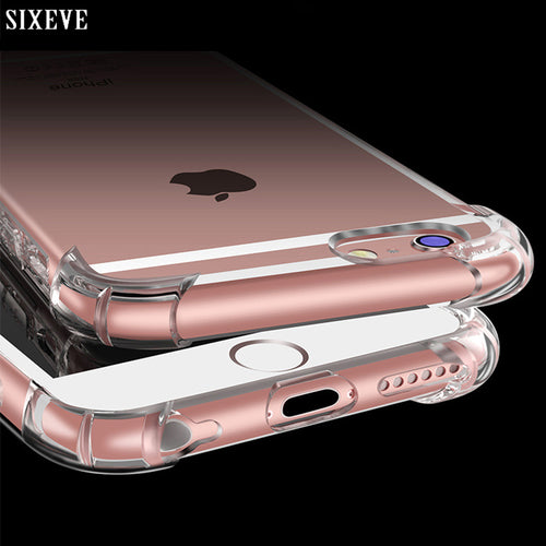 Anti Knock Shock proof Silicon Case for iPhone 8 8 Plus iPhone 8Plus iPhone X 10 - Douhal