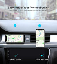 Load image into Gallery viewer, Car Phone Holder For iPhone X 8 7 Plus Universal 360 Magnetic Air Vent Mount Stand Holder - Douhal