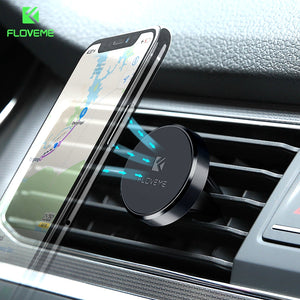 Car Phone Holder For iPhone X 8 7 Plus Universal 360 Magnetic Air Vent Mount Stand Holder - Douhal