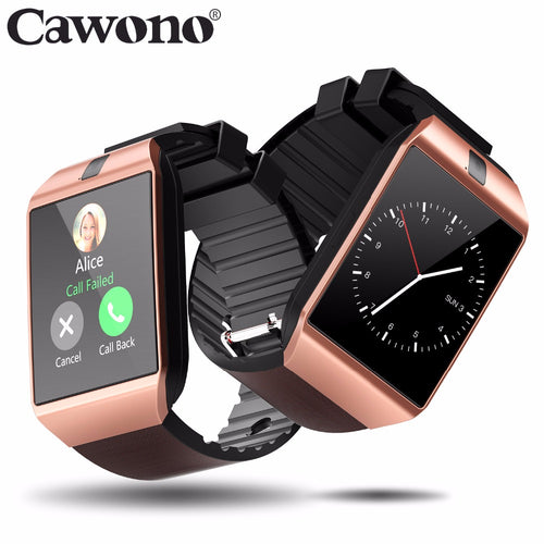 Bluetooth DZ09 Smart Watch Phone Call SIM TF Camera for IOS , android - Douhal