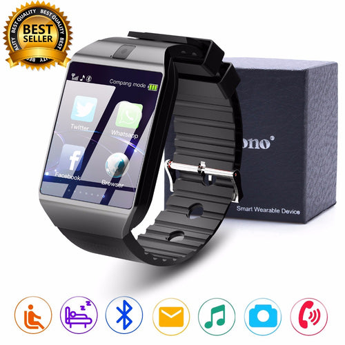 Bluetooth DZ09  Smartwatch Relogios TF SIM Camera for IOS iPhone Samsung Huawei Xiaomi Android Phone - Douhal