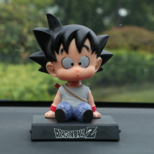 Load image into Gallery viewer, Dragon Ball Z Goku Kuririn Car Decoration Shaking Head Doll Phone - Douhal