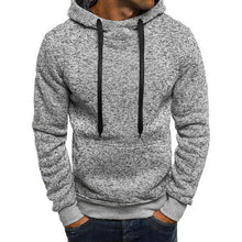 Load image into Gallery viewer, Sweatshirt Men Hoodies Fashion Solid Hoodie Mens - Douhal