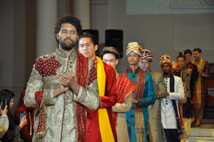 Sherwanis, Kurtas, Turbans, Mojari and More for Men