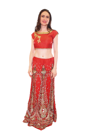 Jeweled Bridal Lehenga Set