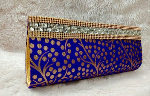 Silk Brocade Clutch