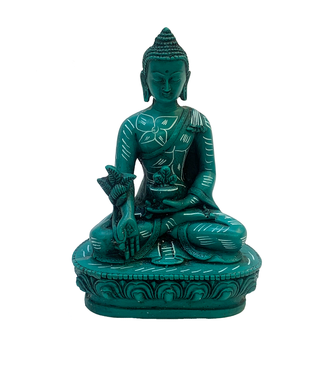 Persian Green Raisin Buddha Statue