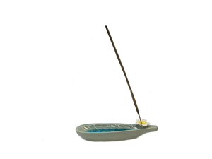 Ceramic Bathtub Incense & Cone Holder