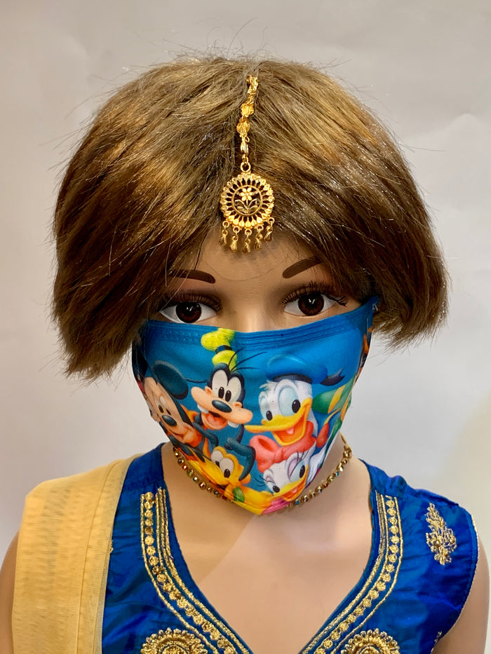 Children Unisex Disney Digital Printed Cloth Face Mask