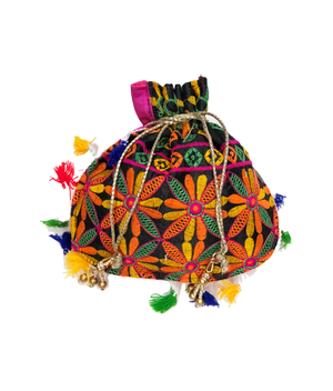 Fancy Embroidered Potli Bag