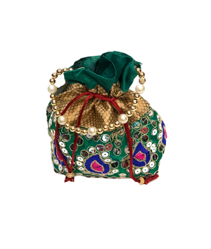 Fancy Red Potli Purse