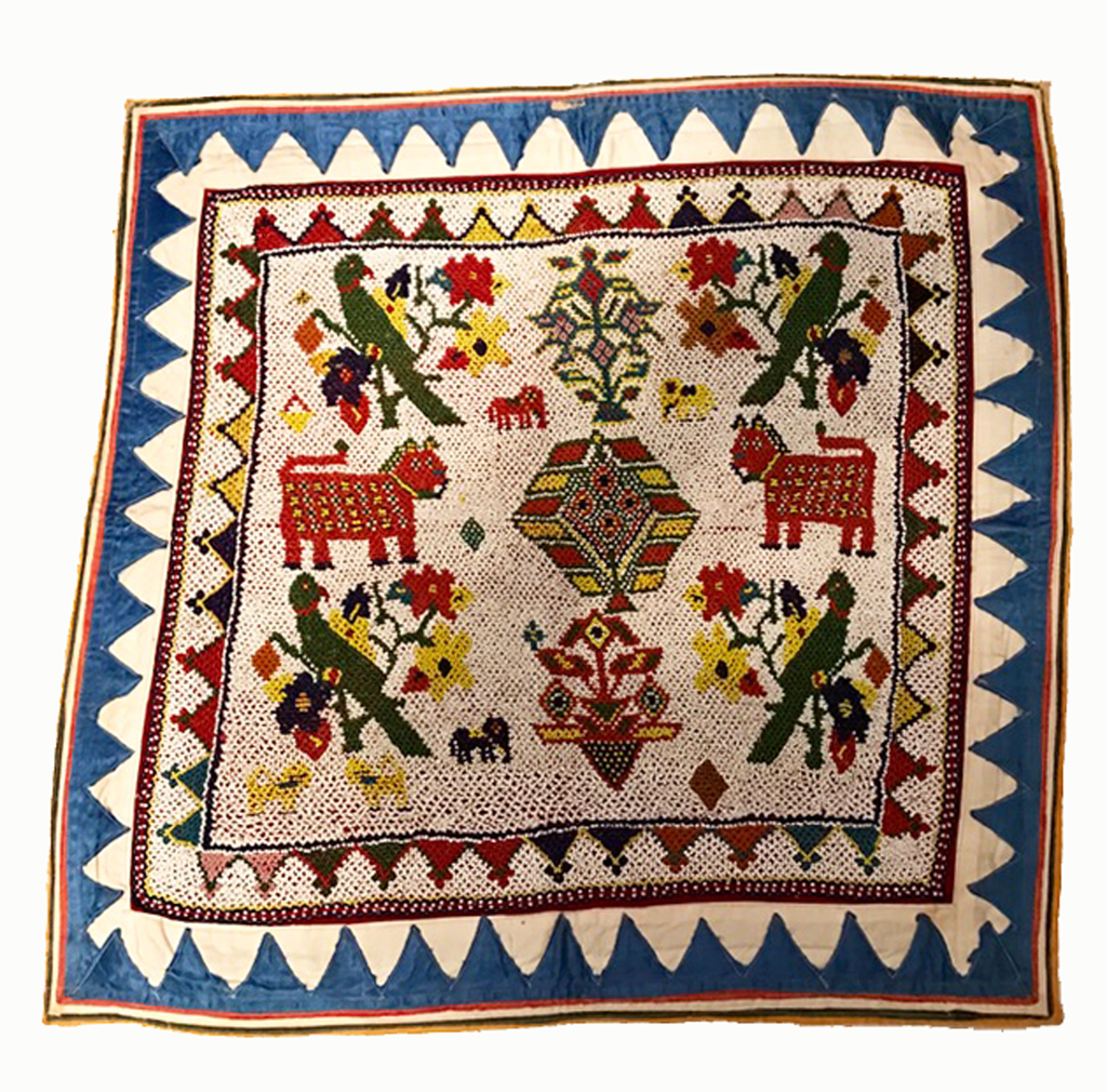 Heritage Rare Square Embroidered Toran